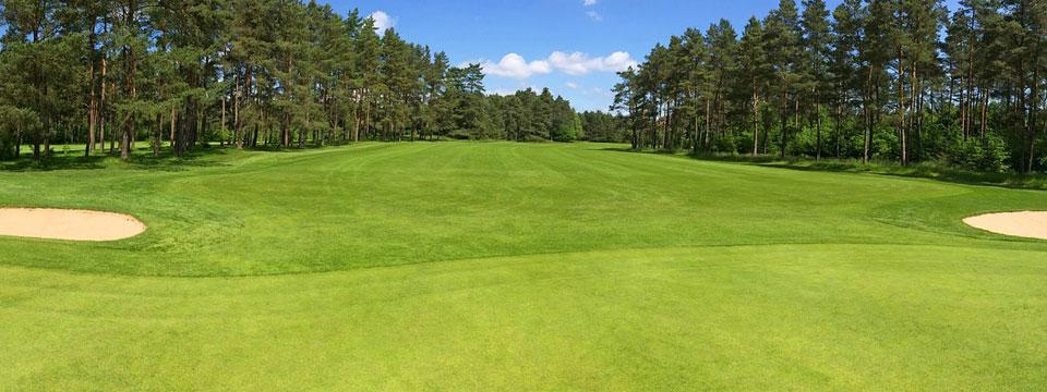 Golf course irrigation design
